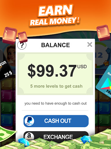 Lucky Diamond u2013 Jewel Blast Puzzle Game to Big Win 1.1.30 Screenshots 8