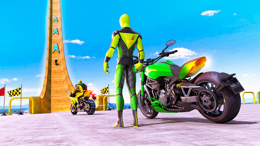 Superhero Bike Stunt GT Racing - Mega Ramp Games 1.17 screenshots 1