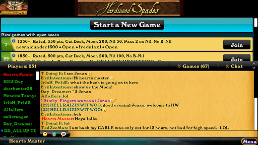 Hardwood Spades Free 2.0.441.0 screenshots 9