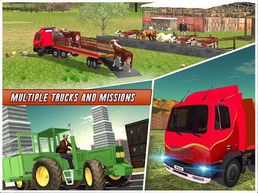 Farm Animal Transport Truck Simulator Driver 2020 2.7 Screenshots 13