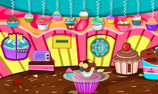Escape Games-Cupcake Rooms  screenshots 4