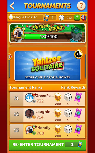YAHTZEEu00ae With Buddies Dice Game 7.7.0 screenshots 16
