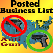 Posted! - List Pro & Anti Gun Carry Locations  Icon