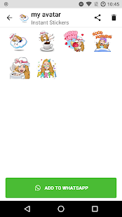 Stickers for WhatsApp with your avatar