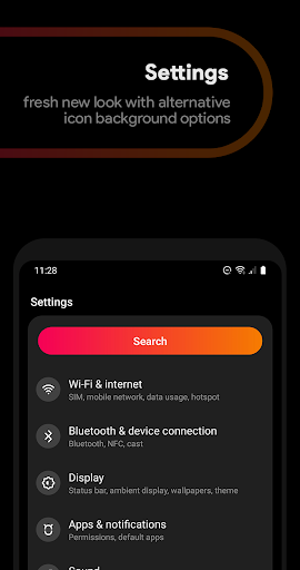 Liv Dark - Substratum Theme  screen 2