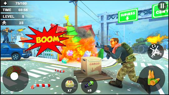 Creative Battle :Firing Destruction Battlegrounds – APK Mod for Android 2