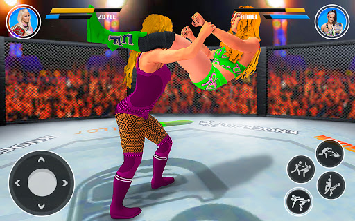 Superstar Girl Wrestling Ring Fight Mania 2019  Pc-softi 3