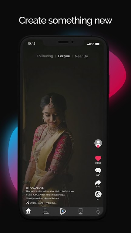 InTok - Proud Indians Short Video Streaming App poster 3