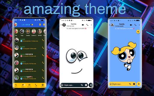 WA MOD Tema Biru - GB Version 1.7 Screenshots 1