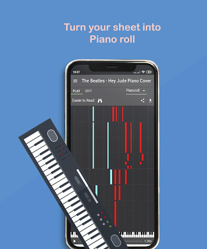 Melody Scanner - Audio to Sheet Music ud83cudfb9ud83cudfb5 modavailable screenshots 3
