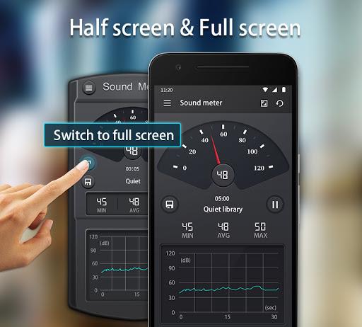Sound Meter - Decibel Meter android2mod screenshots 4
