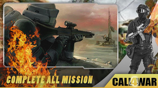 Call of Free WW Sniper Fire : Duty For War apkpoly screenshots 8