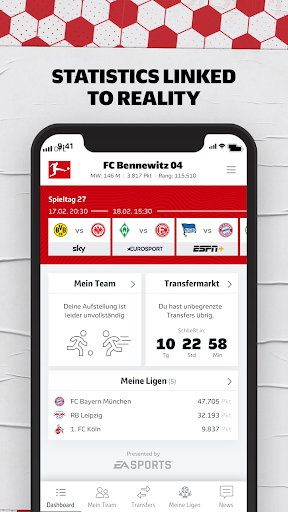 Official Bundesliga Fantasy Manager 1.35.1 screenshots 4