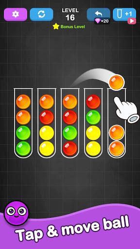 Ball Sort Puzzle - Color Sorting Balls Puzzle 1.1.0 screenshots 17