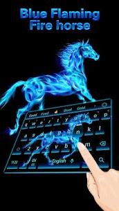 Flaming horse Keyboard 10001006 Download APK Mod 1