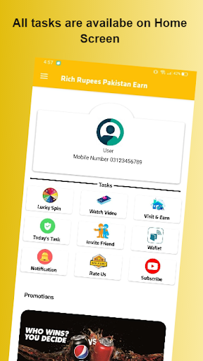 Rich Rupees Pakistan Earn   Insurance And Banking apktreat screenshots 2