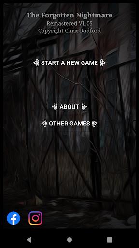 Télécharger The Forgotten Nightmare Text Adventure Game apk mod screenshots 2