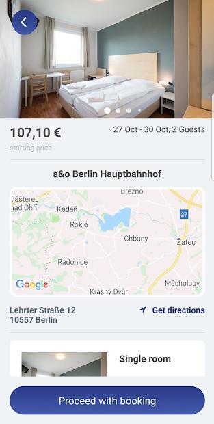 Screenshot 3 de App a&o Hostels para android