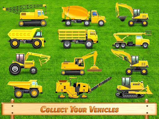 City Construction Vehicles - House Building Games screenshots 8