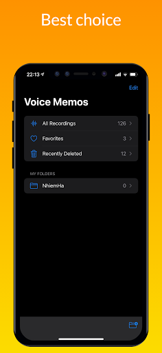 iVoice - iOS Voice Recorder, iPhone Voice Memos android2mod screenshots 3