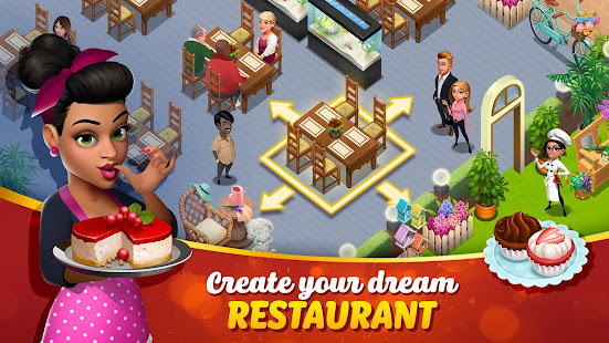 Tasty Town - Cooking & Restaurant Game 🍔🍟 apk