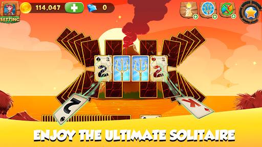 Solitaire Tripeaks - Lost Worlds Adventure 6.3.1 screenshots 1