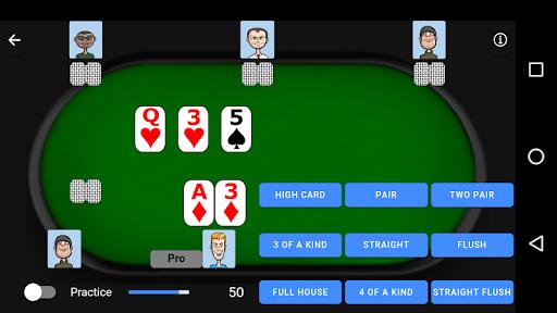 Poker Trainer - Poker Training Exercises 3.1.8 screenshots 3