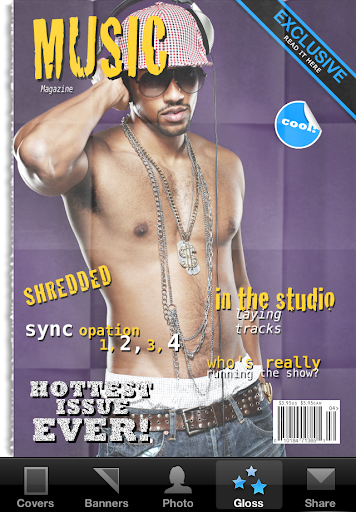 Magazine Cover Maker - FREE For PC Windows (7, 8, 10, 10X) & Mac Computer Image Number- 6