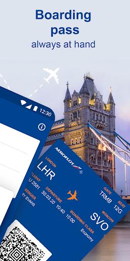 Aeroflot u2013 buy air tickets online 4.4.0.606 Screenshots 2