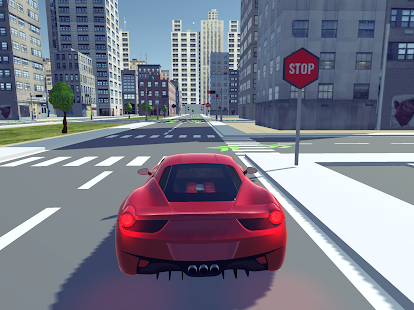 Driving School 3D Simulator Screenshot
