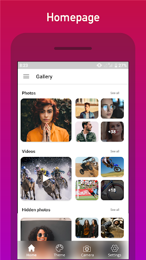 Gallery, Photo Editor and Collage maker 3.1.0.227 screenshots 5