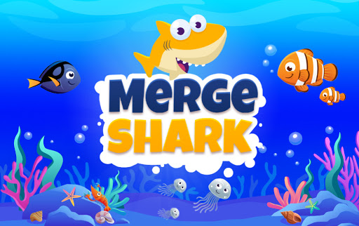 Merge Shark: Cute Fun Evolution Tap Doo  screenshots 4