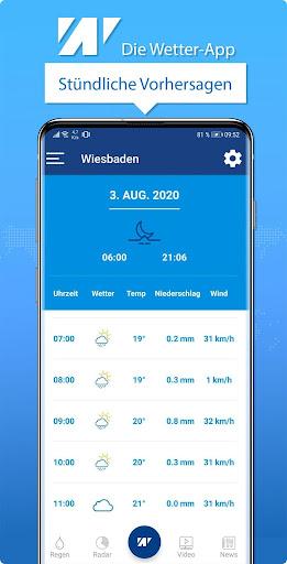 Wetter.net u2013 dein Wetter mit Regenradar 2.6 Screenshots 6