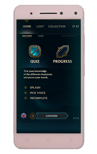 Quiz of League of Legends 10.21 screenshots 1