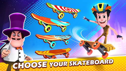 Smaashhing Simmba - Skateboard Rush android2mod screenshots 7