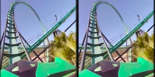 VR Thrills: Roller Coaster 360 (Cardboard Game) 2.1.7 Paidproapk.com 3