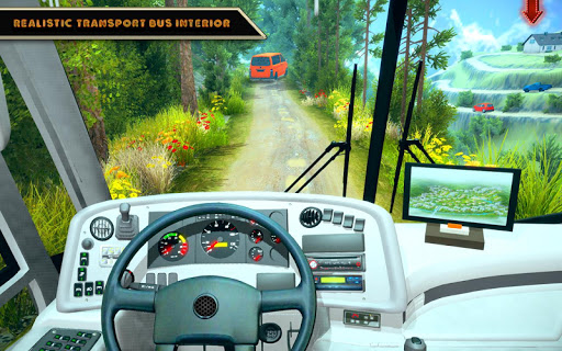 Offroad Bus Driving Simulator 2019: Mountain Bus apktram screenshots 2