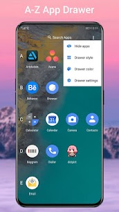 Q Launcher Mod Apk for Q 10.0 launcher, Android Q 10 (Premium Unlocked) 2