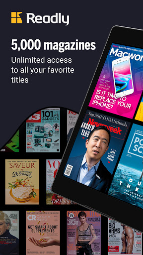 Readly - Unlimited Magazine Reading  screenshots 7