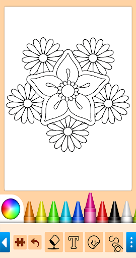 Coloring game for girls and women 15.1.4 screenshots 15