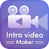 Intro video maker, logo and text animation