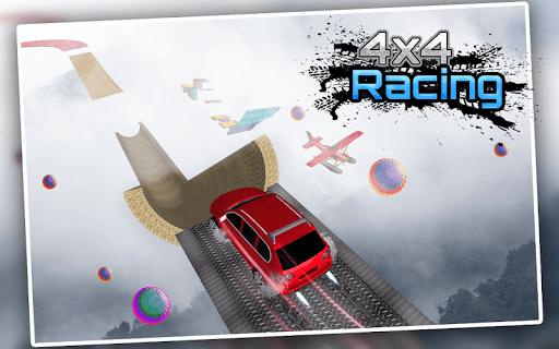 Racing Stunts in Car 3D: Mega Ramp Crazy Car Games  screenshots 2