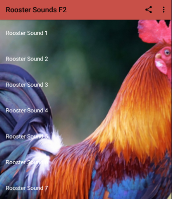 Rooster Sounds screenshots 2