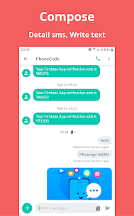Messenger Bubble SMS – Free Chat SMS, MMS 3