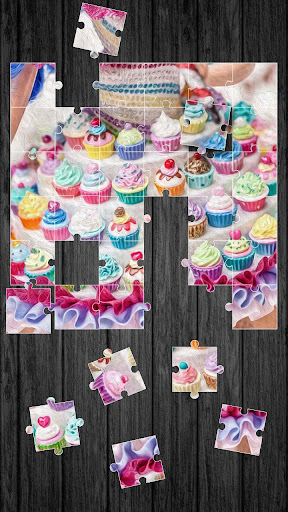 Cupcakes Jigsaw Puzzle Game For PC Windows (7, 8, 10, 10X) & Mac Computer Image Number- 7