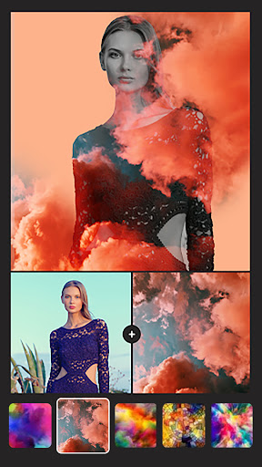 Instasquare Photo Editor: Drip Art, Neon Line Art  Screenshots 3