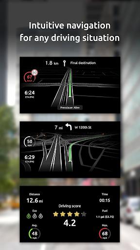 HUDWAY Go u2014 GPS Navigation & Maps with HUD  Screenshots 5