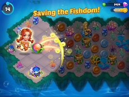 Merge Mermaids-design home&create magic fish life.