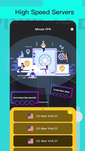 Minute VPN - Unlimited VPN, Security Free VPN apktram screenshots 4