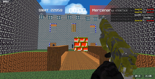 Shooting Advanced Blocky Combat SWAT  screenshots 1